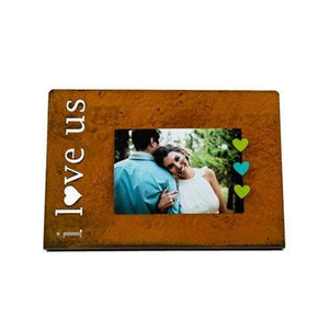 "Prairie Dance Proudly Handmade in South Dakota, USA ""I love us"", Magnetic Frame"