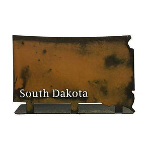 Prairie Dance Proudly Handmade in South Dakota, USA SD Shape Magnetic Frame