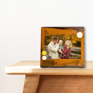 Prairie Dance Proudly Handmade in South Dakota, USA Square Magnetic Frame