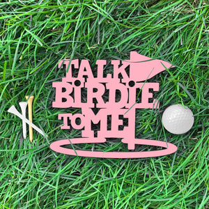 Spunky Fluff Proudly Handmade in South Dakota, USA Small / Pink Talk Birdie To Me