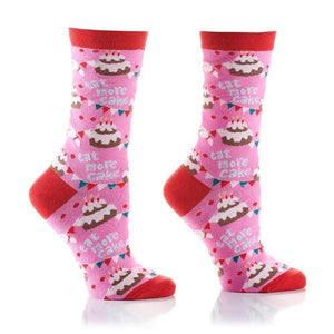 Yo Sox Ready to Wear Women's - Birthday Bash Crew Socks