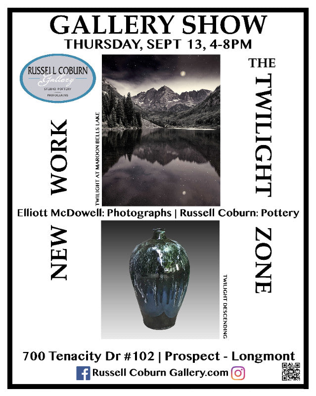 The Twilight Zone: Gallery Exhibit & Reception Sept 13, 2018