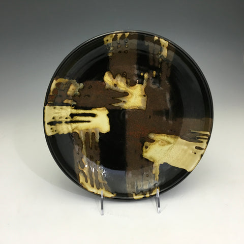 Abstract Geometric Porcelain Plate - PL12