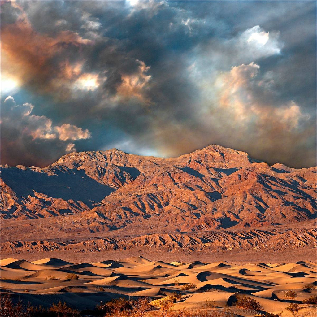 Sundown Death Valley - Framed FP7