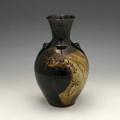 """Amber Waves of Grain""  Vase - VS21"