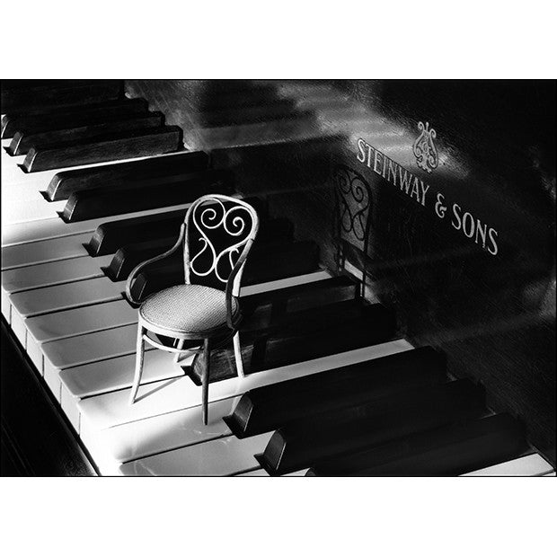Piano & Chair - Framed FP5