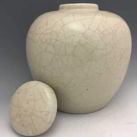 Crackle Glaze Ginger Jar - JR9