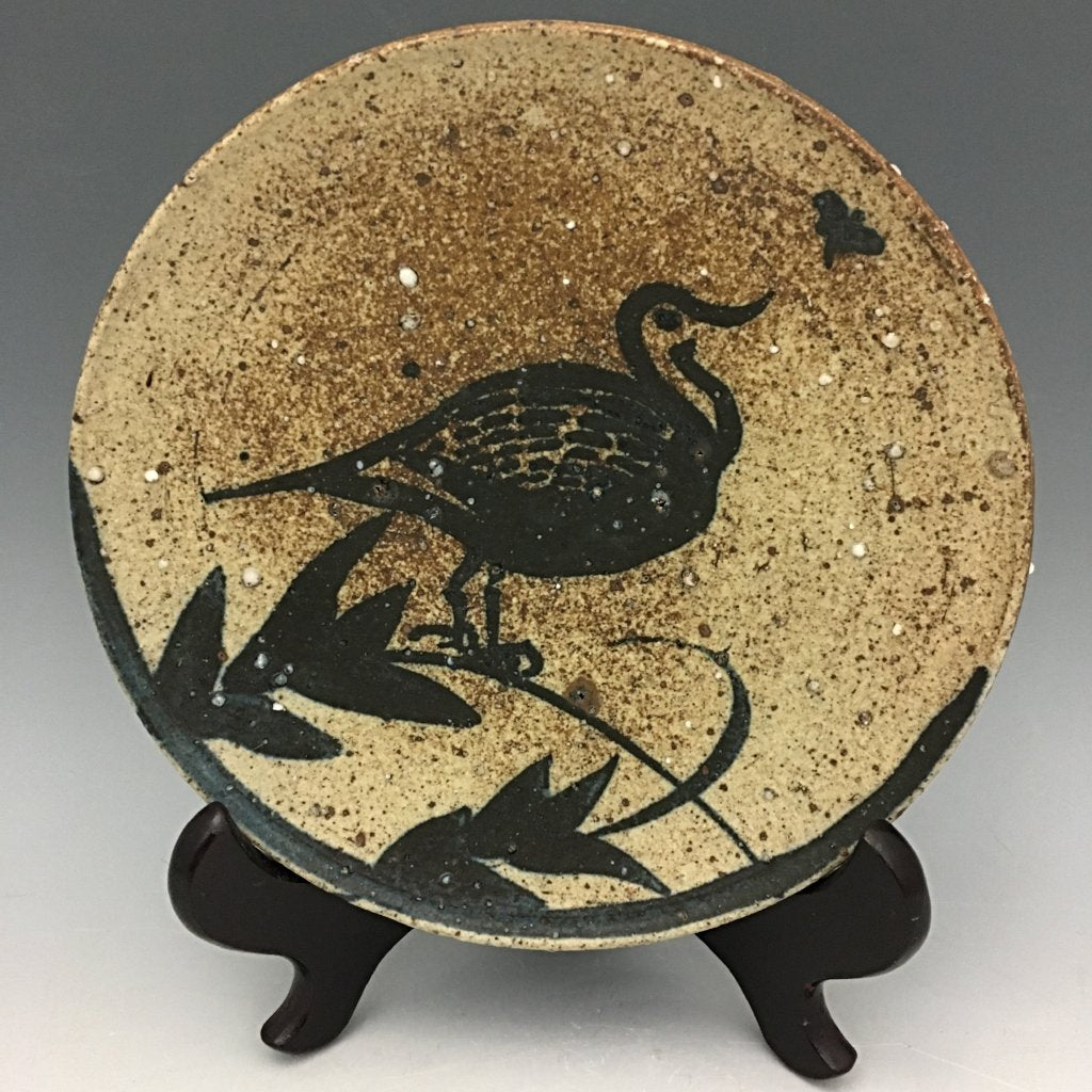 """Curious Dove"" Plate - PL10"