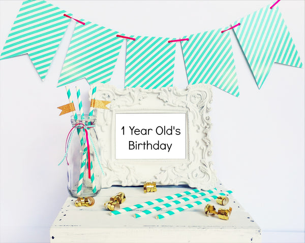 Party Lab Question - Birthday for a one year old