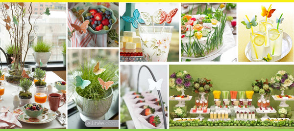 Butterfly shower party_food ideas and layout