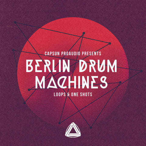 Berlin Drum Machines - CAPSUN ProAudio - Sample Pack