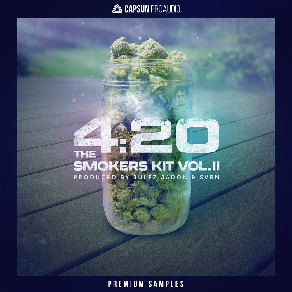 4:20 The Smokers Kit Vol 2 - CAPSUN ProAudio - Sample Pack