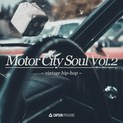 Motor City Soul Vol.2: Vintage Hip-Hop