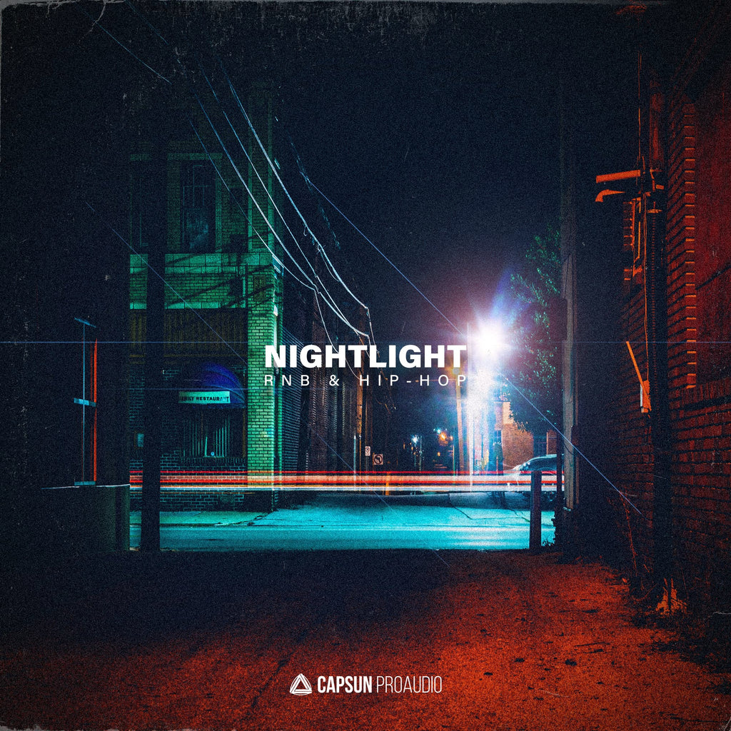 Capsun ProAudio Nightlight RnB & Hip-Hop Sample Pack