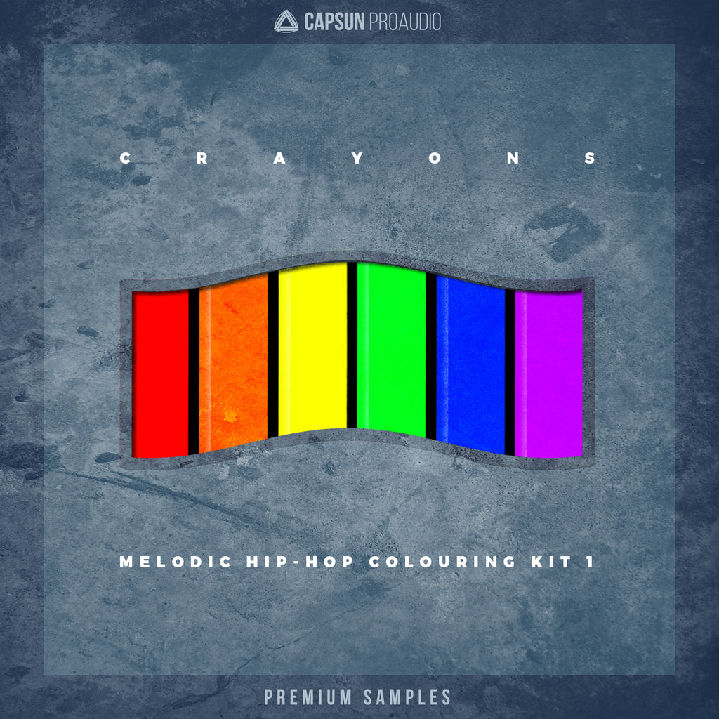 CAPSUN-ProAudio-Crayons-Melodic-HipHop-Colouring-Kit-1-Sample-Pack