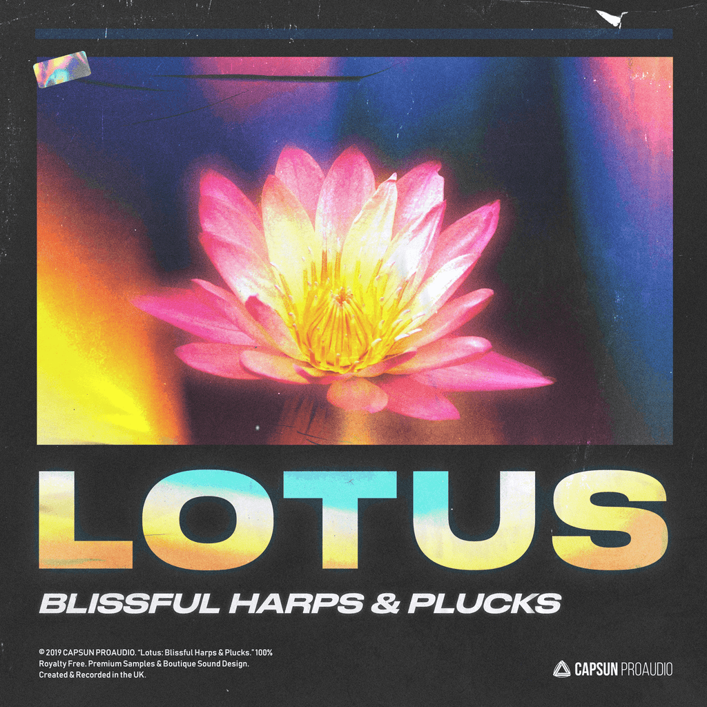 Lotus: Blissful Harps & Plucks