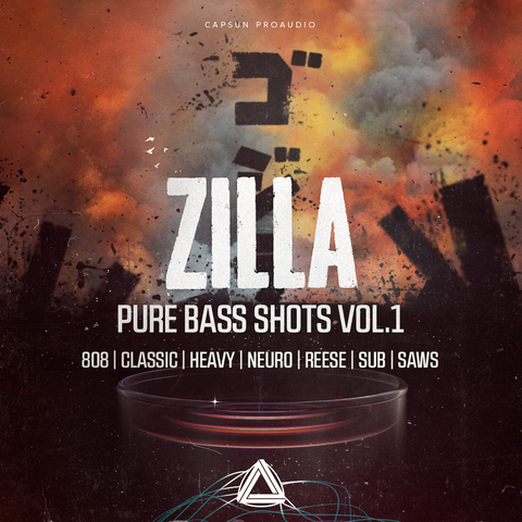 Zilla - Pure Bass Shots Vol. 1 - CAPSUN ProAudio - Sample Pack