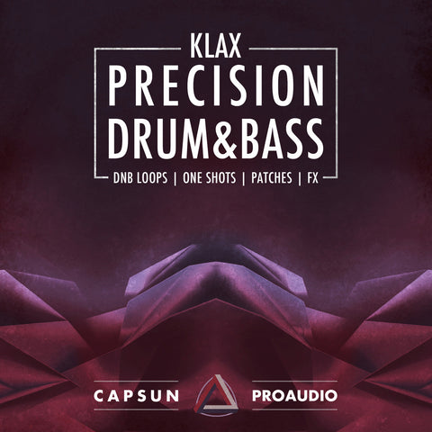 Klax – Precision Drum & Bass Vol. 1 - CAPSUN ProAudio - Sample Pack