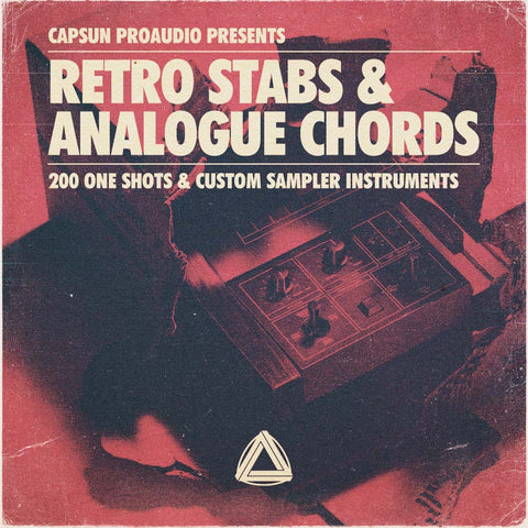 Retro Stabs & Analogue Chords - CAPSUN ProAudio - Sample Pack