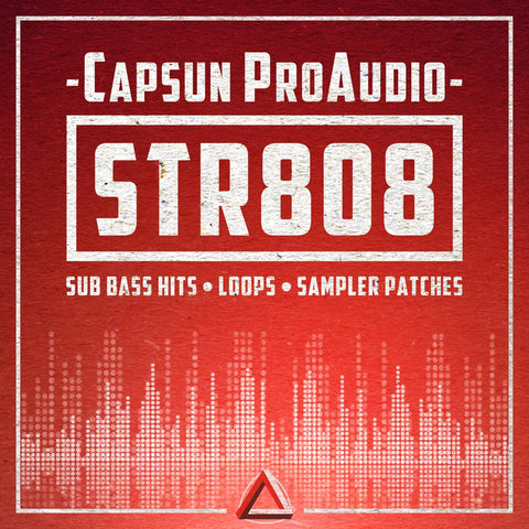 STR808 - Sub Bass - CAPSUN ProAudio - Sample Pack