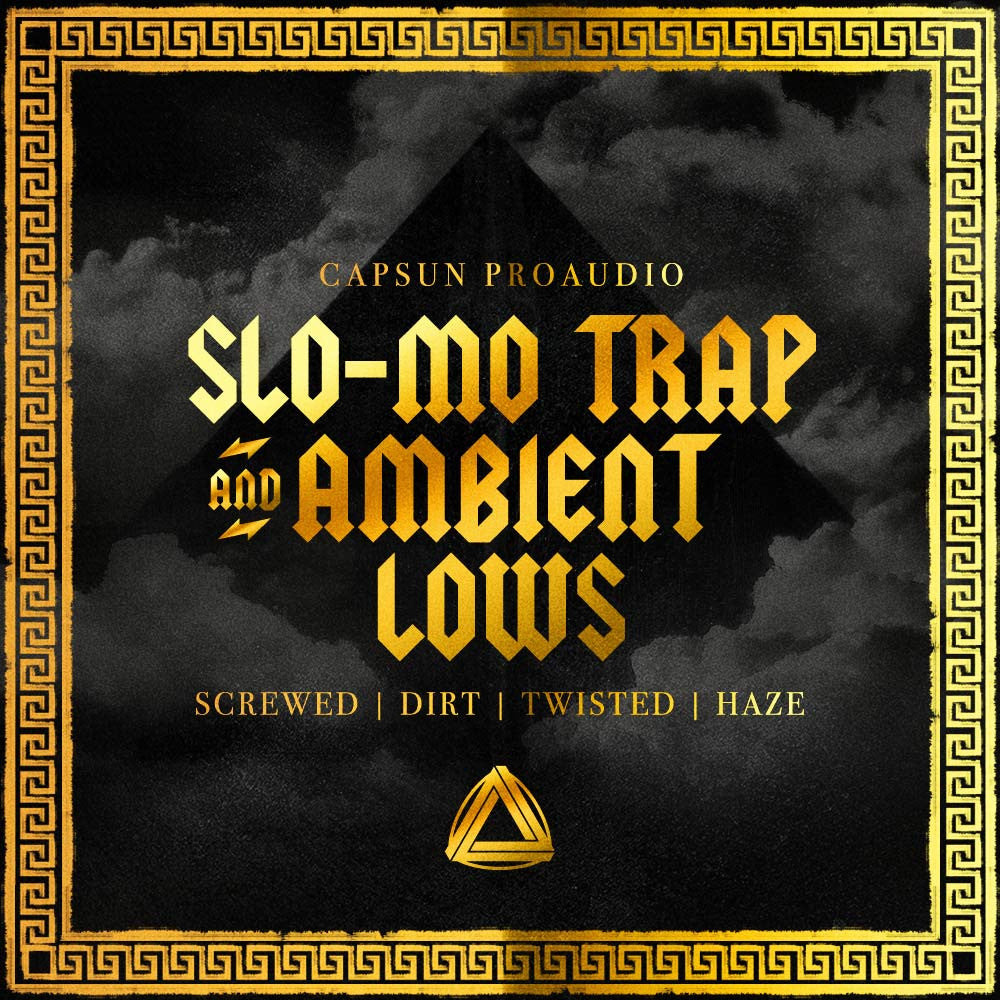 Slo-Mo Trap & Ambient Lows - CAPSUN ProAudio - Sample Pack