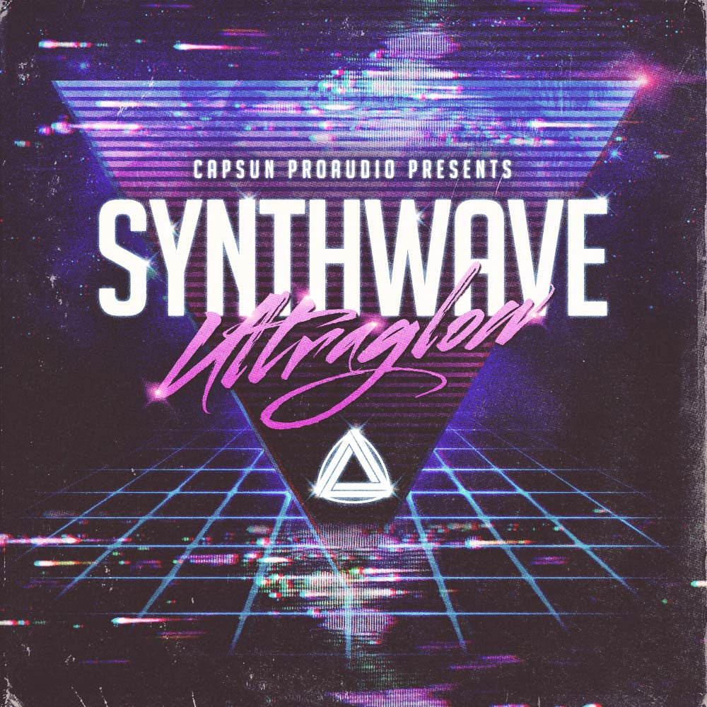 Synthwave Ultraglow - CAPSUN ProAudio - Sample Pack