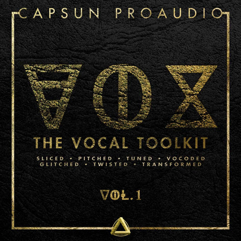 VOX - The Vocal Toolkit Vol.1 - CAPSUN ProAudio - Sample Pack