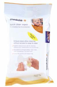 Medela Quick Clean™ Breastpump & Accessory Wipes