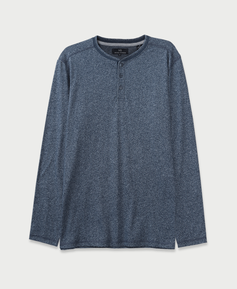 The Marled Long-Sleeve Henley