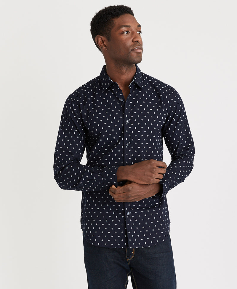 Michael Brandon Black Diamond Shirt