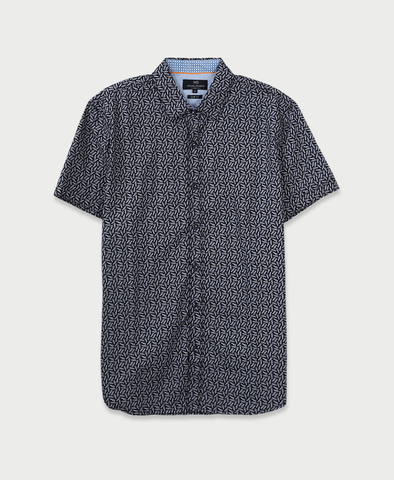 Michael Brandon All-Over Pineapples Shirt