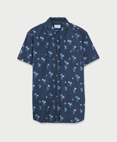 Michael Brandon Moonlit Palms Shirt