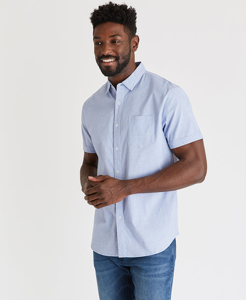 Textured Work Shirt