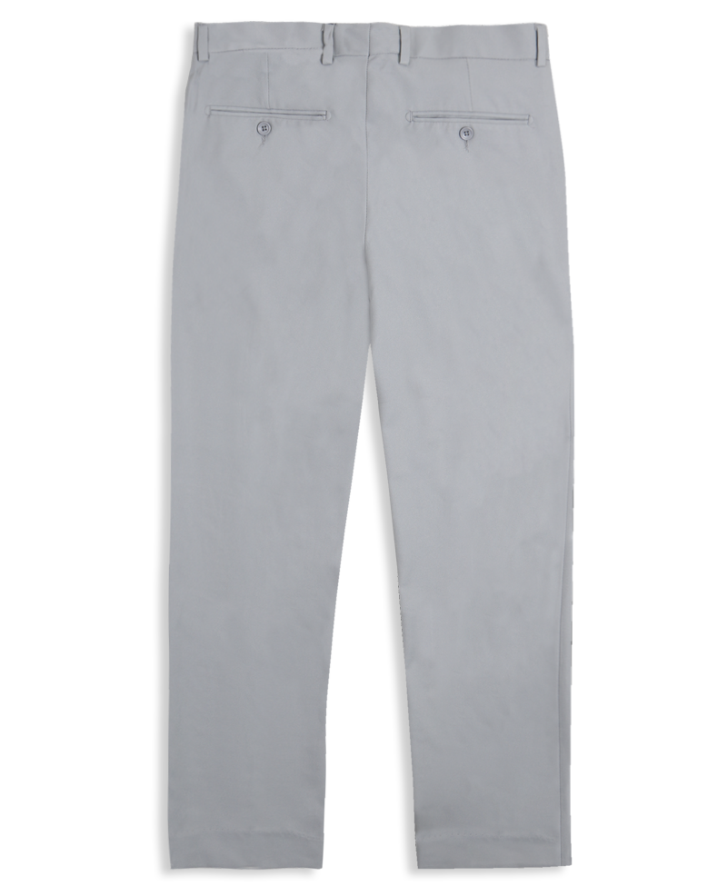 The Flex Twill Trousers - Light Grey