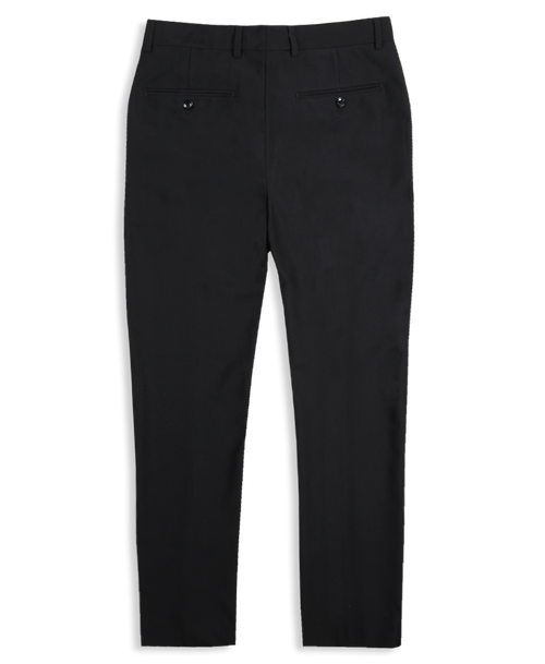 The Herringbone Trousers - Black