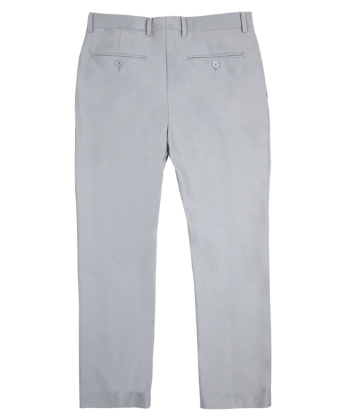 The Herringbone Trousers - Light Grey