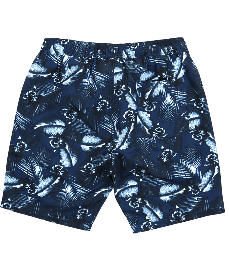 Midnight Tropics Swim Shorts