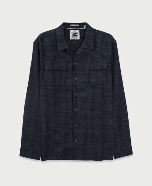 The Crosshatch Flannel Jacket