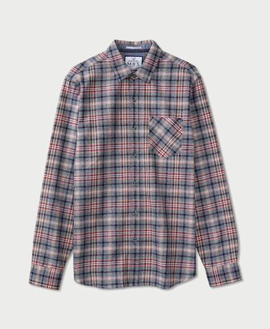 MBX Hazy Plaid Flannel