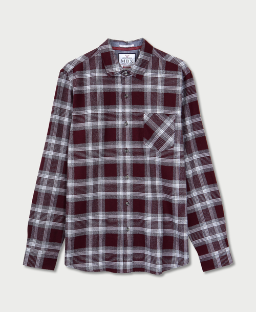 MBX Red Wine Flannel