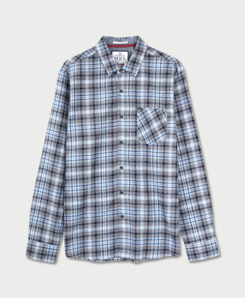 Hazy Plaid Flannel