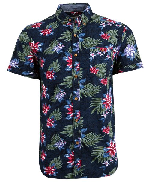 Stained Floral Shirt