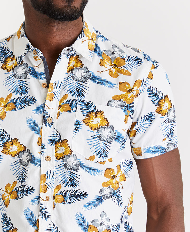 MBX Hawaiian Hibiscus Shirt