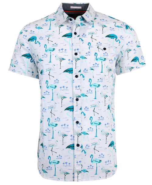 Flamingo Blues Shirt