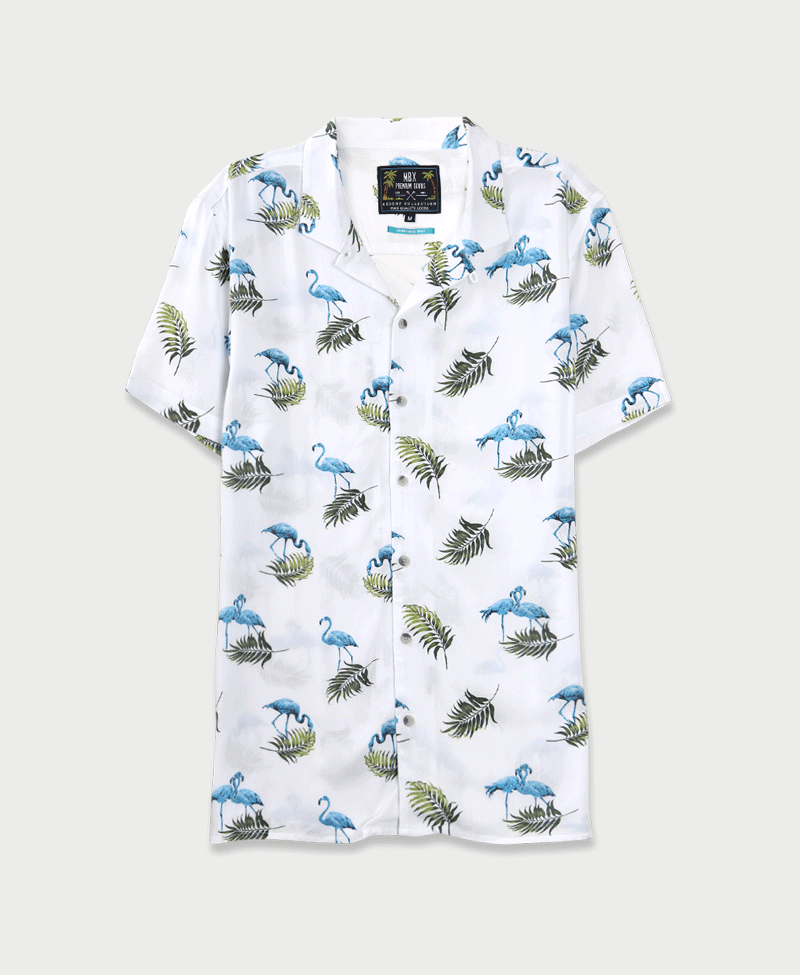 MBX Flamingo Avenue Camp Shirt