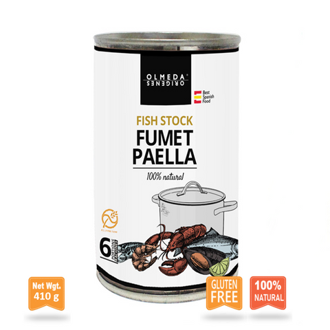 Concentrated Fish Stock for Paella|Fumet de Marisco para Paella Concentrado