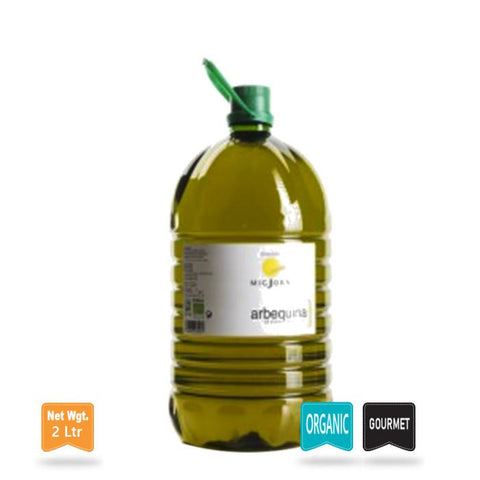 Extra Virgin Olive Oil Arbequina Organic|Aceite de Oliva Extra Virgen Arbequina Ecológico