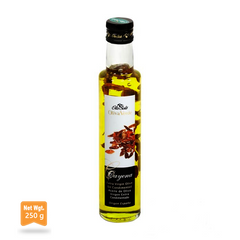 Arbequina Extra Virgin Olive Oil With Cayenne Pepper|Aceite de Oliva Extra Virgen Arbequina con Pimienta de cayena