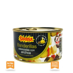 "Pickles With Anchovy ""Banderillas""