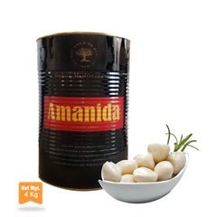 White Garlic in Extra Virgin Olive Oil|Ajo Blanco en Aceite de Oliva Extra Virgen